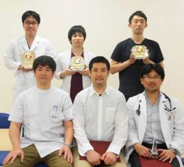 平成28年度宮崎大学医学部卒後臨床研修センターベスト指導医賞受賞